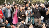 JNU campus row: Politicians join protests against sedition charge on student union leader