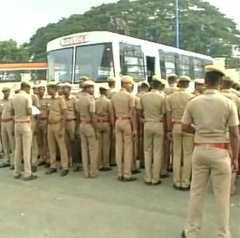 Jayalalithaa's health: Tight security across Tamil Nadu