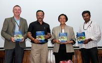Book on climate change challenges and adaptations launched at ICRISAT