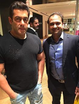 Spotted: Salman Khan