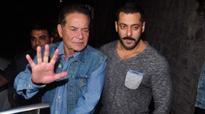 Salim Khan defends  Salman Khan in sporting discussion