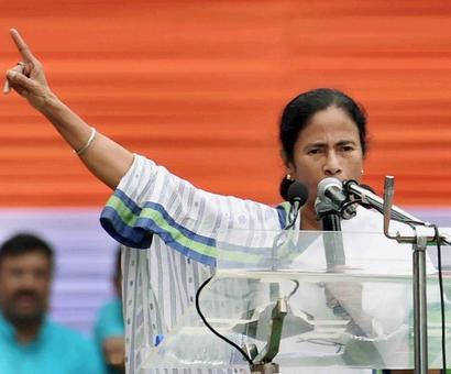 Didi to launch 'Quit India' campaign against BJP