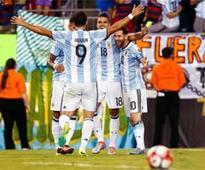 Argentina, Chile enter Copa America semis in style