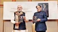 PM launches Subhash Chandra's autobiography