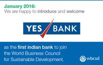 YES BANK becomes the first Indian bank to join  World Business Council for Sustainable Development (WBCSD)