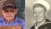 WWII Vet Gets to Visit Battleship for His 99th Birthday After Emotional Serenade