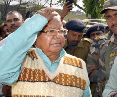 Lalu awarded 5-yr jail term in third fodder scam case