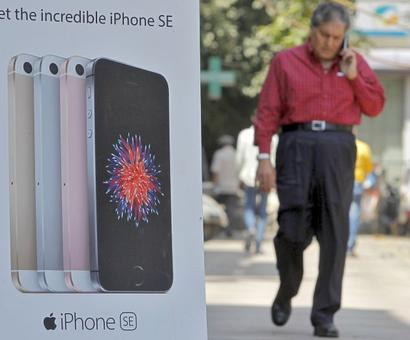 Apple way behind Oppo in India