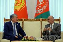 Kyrgyz and Afghani leaders discuss the develoment of cooperation between the two countries