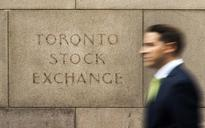 TSX falls as financials and railway stocks slide
