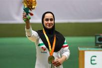 Iranian female paralympics shooter elected best athlete of September