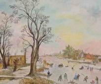 Aert Van Der Neer inspires Japanese Artist: Altered Realities, Christianity, and Dutch Art