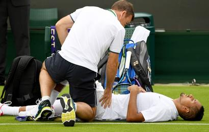 Here's why Nick Kyrgios withdrew from Wimbledon early