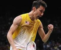Malaysian Chong Wei wins the title at Indian Open