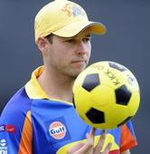 I am probably scared of bowling to MSD: Laughlin