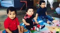See pics: Just like Kareena Kapoor Khan and Tusshar Kapoor, Taimur and Laksshya are friends too!