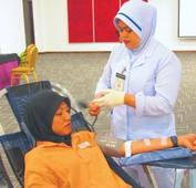 Resort in blood donation drive to help society