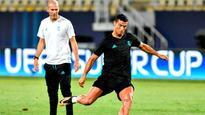 UEFA Super Cup: Zinedine Zidane warns Manchester United of Cristiano Ronaldo threat