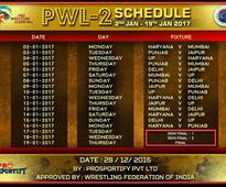 Pro Wrestling League Season 2: Full schedule, timings and channel information
