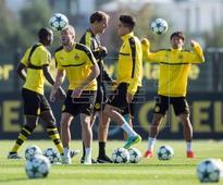 Bartra, Aubameyang, Schurrle return to Dortmund training