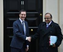 George Osborne and Indian Finance Minister Arun Jaitley strengthen UK-India economic ties