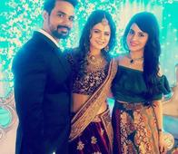 Kkusum Actress Rucha Gujarathi Ties The Knot; TV Stars Nausheen Ali, Khyaati Keswani And Others Attend The Do