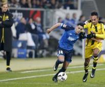 Bundesliga: Unbeaten Hoffenheim share spoils with Borsussia Dortmund in 2-2 draw