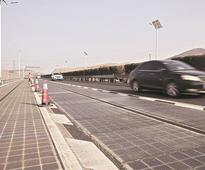 Solar highway: China's built a road so smart it will be able to charge car