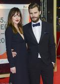 Fifty Shades Of Grey star Jamie Dornan and wife Amelia enjoy food in Vancouver