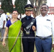 Malayali girl to join army as Lieutenant bagging 1st rank in selection