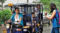 Mercury drops but humidity makes Delhiites sweat