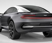 Aston Martin DBX Electric GT Concept Stuns