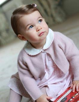 My, how you've grown! Britain's Princess Charlotte turns 1