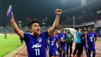 I-League: Bengaluru draw with Punjab, Sunil Chhetri equals Baichung Bhutia as leading Indian goal-scorer