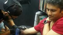 Check out Mohit Suri's tattoo of his daughter's name!