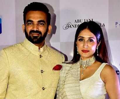 Zaheer and Sagarika turn showstoppers for cancer warriors
