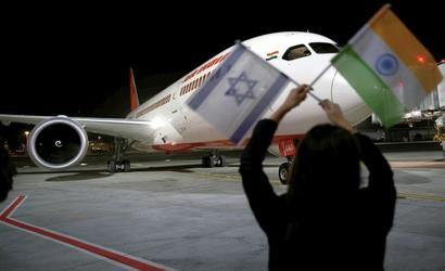 Air India makes history, lands in Israel using Saudi airspace