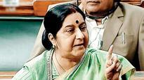Usually cordial on Twitter, Sushma Swaraj blocks Cong MP