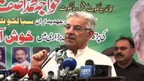 Khawaja Asif credits Nawaz for making Pakistan a nuclear power