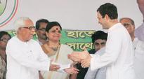 West Bengal: Buddhadeb and Rahul Gandhi chorus victory chant