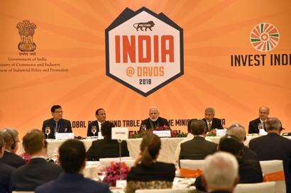 India means business: Modi tells global CEOs at Davos
