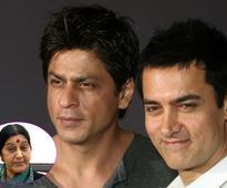 Shah Rukh Khan and Aamir Khan TAUNTED by BJP's Sushma Swaraj for surrogacy!