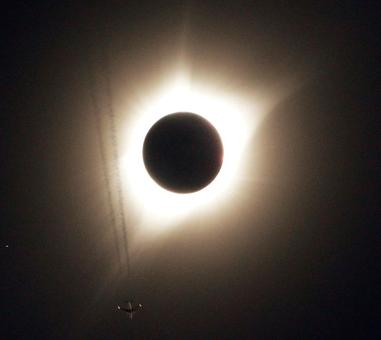 The solar eclipse is here!