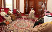 King of Bahrain Receives Message from Sultan Qaboos