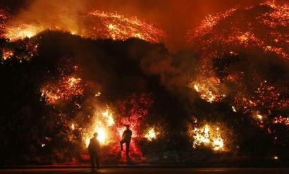 'The new normal': Governor on California fires