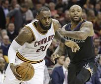 NBA: All-Stars shine bright as Cleveland Cavaliers sink Phoenix Suns 118-103