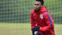 England striker Daniel Sturridge trains on eve of Euro 2016 squad announcement after calf injury