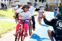 Bikes awarded to special kids