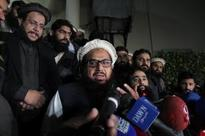Protests after Pak detains 26/11 mastermind Hafiz Saeed