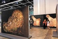 Korean artwork lights up Art Basel Hong Kong